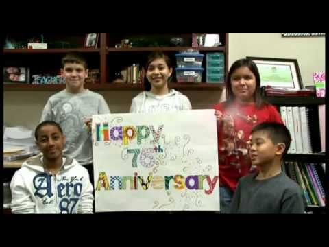 Anderson Elementary School Celebrates Spring ISD's 75th Anniversary