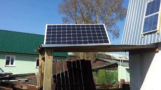 установка Солнечной батареи 200 Ватт 12 вольт в работу(, 2014-05-02T14:46:44.000Z)