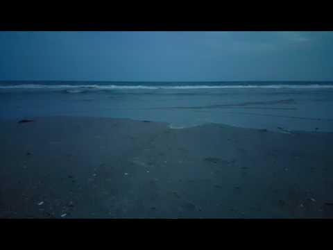 Just Ocean, Atlantic Beach North Carolina in 4k