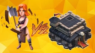 Clash of Clans | TH9 Attack Strategy 3 STAR | Golem - Valkyrie 2017| Valkyrie War Strategy#(Part 1)