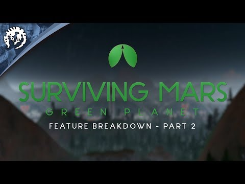 Surviving Mars is getting penguins, llamas and terraforming in May