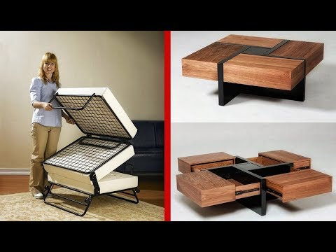 10 Must See MultiFunctional Furniture Innovations and Designs  ▶ 2 !
