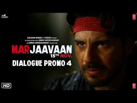 Marjaavaan (Dialogue Promo 4) | Riteish D, Sidharth M, Tara S | Milap Zaveri | 8 Nov
