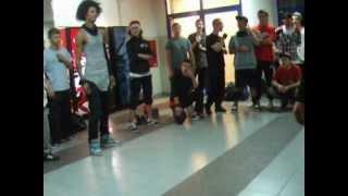 Les Twins Laurent vs Pirat/Greku/Chuchu