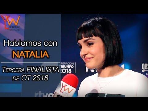 Hablamos con NATALIA (OT 2018): «Miro a Alba y me entran ganas de llorar de lo que la quiero»