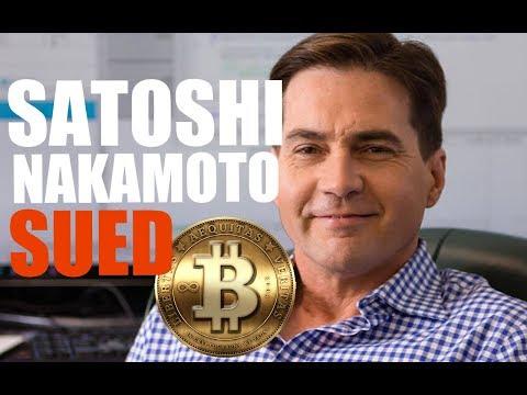 Satoshi Nakamoto Sued: The Dark Side Behind the Creation of Bitcoin, Craig Wright and Dave Kleiman