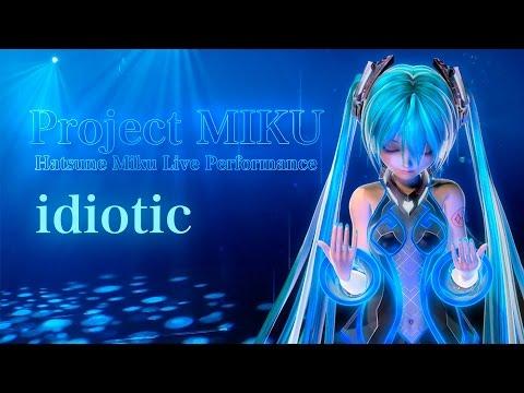 【初音ミク】idiotic 【オリジナル曲】LIVE動画