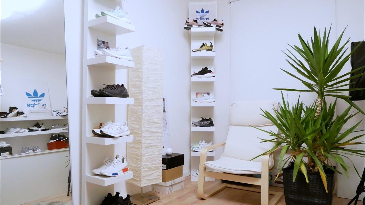 sneakerzimmer einrichten build a sneaker room closet part 1