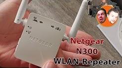 Netgear N300 WLAN-Repeater [Deutsch] 4K