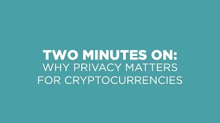 Epic Cash Why Privacy Matters for Cryptocurrencies