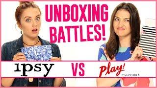 SEPHORA PLAY VS IPSY!   Unboxing Battles!