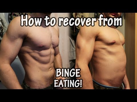 HOW TO RECOVER FROM BINGE EATING | Days after a CHEATDAY!