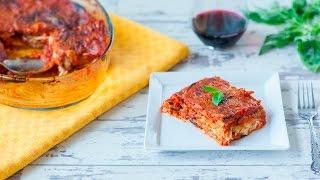 Parmigiana di melanzane - videoricette di piatti tradizionali italiani vegetariani