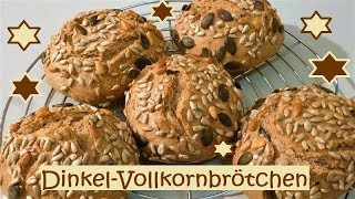 Dinkel-Vollkornbrötchen!
