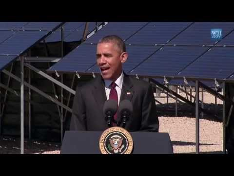 Obama In Utah - Full Speech About Solar Energy
