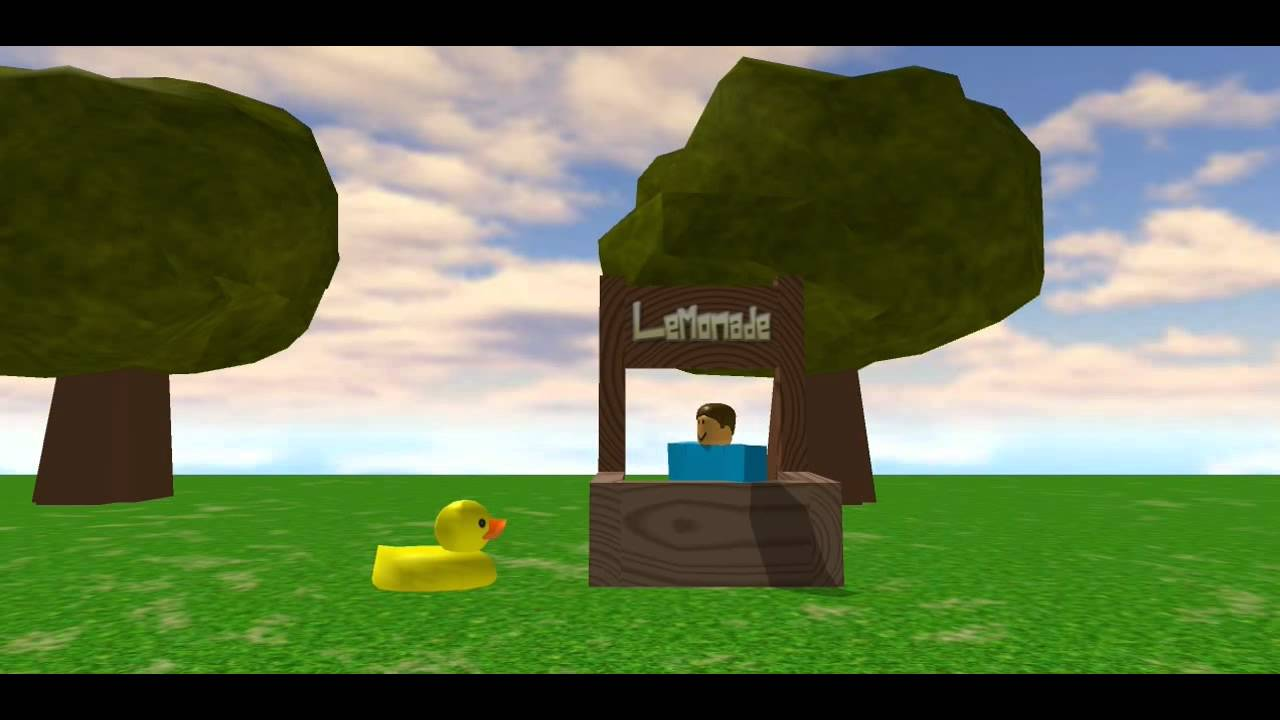 The Duck Song Roblox Youtube