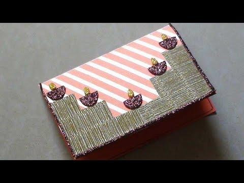 Diwali Greeting Card Making Idea   Handmade & Homemade Paper Craft Ideas