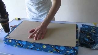 Serg - Childrens Storage Seat Video Tutorial (part 2)