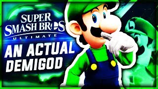 LUIGI THE DEMIGOD Super Smash Bros Ultimate Classic Mode Luigi