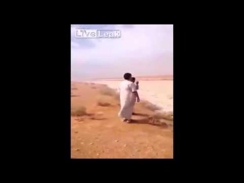 Imágenes Insólitas De Un Río De Granizo En El Desierto De Irak Nunca Antes Visto