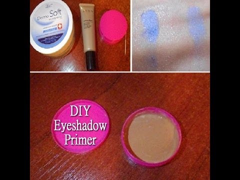 How To: Eyeshadow Primer DIY ♡ - YouTube