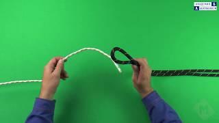 Канатные узлы, используемые при работе на высоте. Узел «Брамшкотовый»