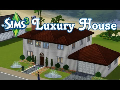 The Sims 3 - Building A Luxury House