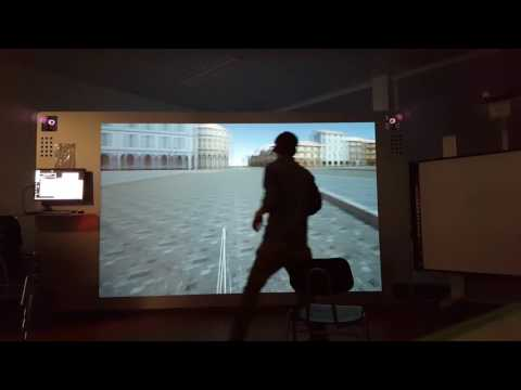 Game Engine Unity on a Virtual Reality Powerwall Configuration