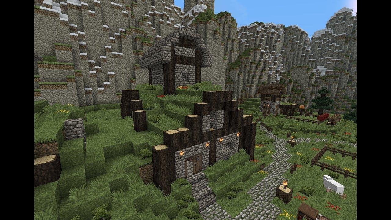 Minecraft Gundahar Tutorials Dwarven House Youtube