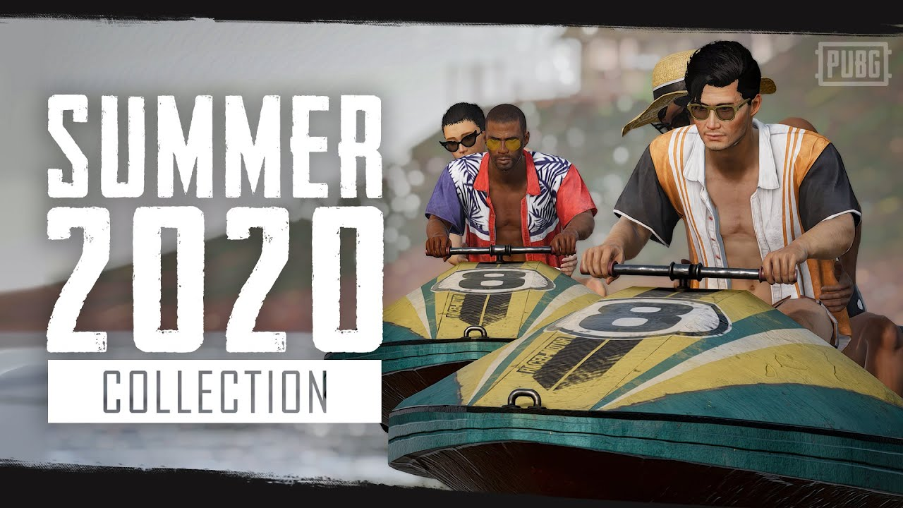 시즌8: 2020 여름 신상 컬렉션 | 배틀그라운드