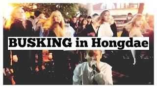 VLOG | Friday Performing in Hongdae!