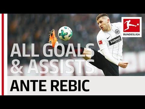 Ante Rebic - All Goals & Assists 2017/18