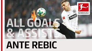 Ante Rebic - All Goals & Assists 2017/18