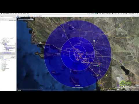Find a radius around a point on Google Maps - YouTube  Mile Radius Map on