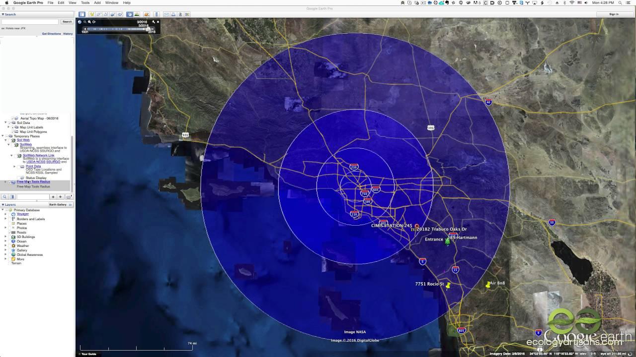 Google Maps Radius Einzeichnen