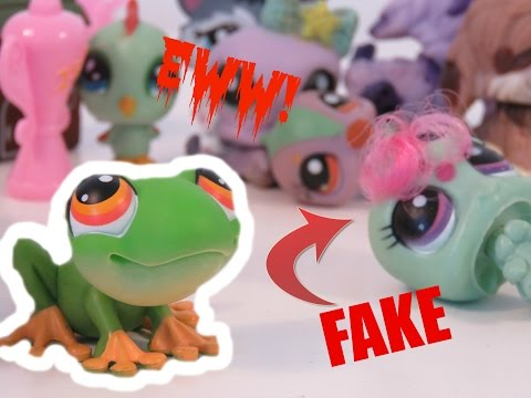 FAKE LPS Toy Review/Unboxing STICKY