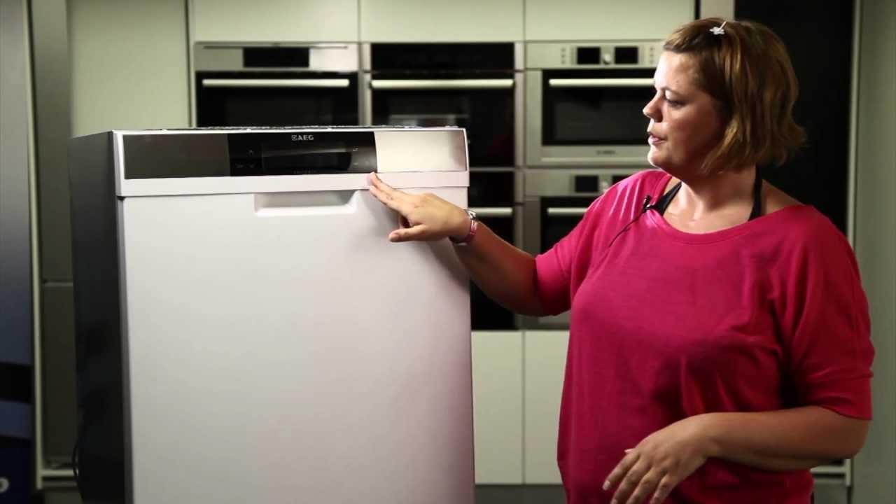 f99009w0p aeg opvaskemaskine youtube. Black Bedroom Furniture Sets. Home Design Ideas