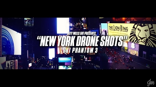 DRONE SHOTS - NYC TIME SQUARE   Dir. By #JWE