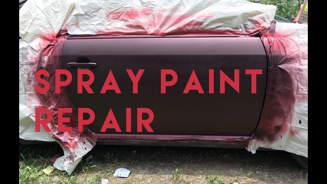 DIY: Paint Car with Spray Cans - YouTube