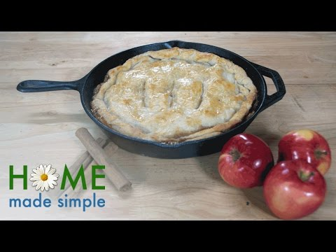 Skillet Apple Pie Makes The Perfect Cold-Weather Dessert | Home Made Simple | Oprah Winfrey Network