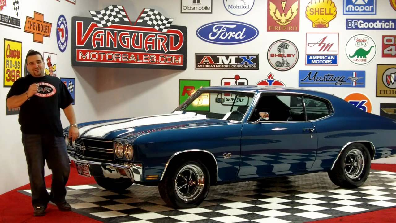 1970 chevy chevelle big block classic muscle car for sale