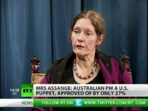 Assange mother: I'm terrified of what US will do to Julian