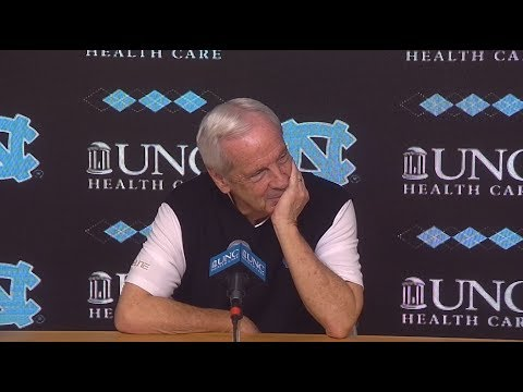 UNC Men's Basketball: Roy Williams pre-Syracuse Press Conference