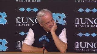 UNC Men's Basketball: Roy Williams pre-Syracuse Press Conference