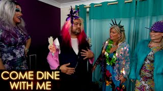 Nov & Olympia Have Their Guests Dress Up | Come Dine With Me
