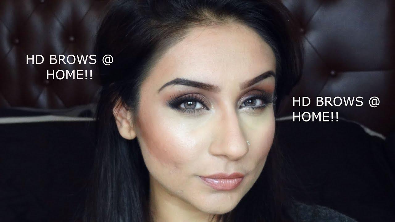 How To Hd Brows With Milani Brow Pencil Dark Brown Raji Osahn Youtube