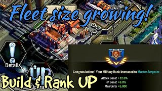 "Age of Z Origins ""Fleet size Growing! Build & Rank UP"""