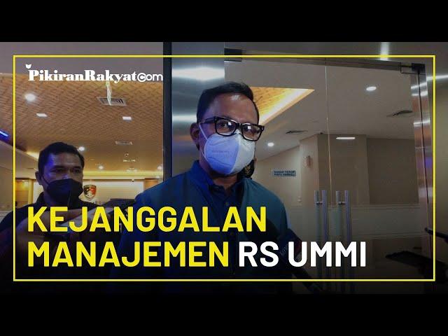 Datang ke Bareskrim Polri, Bima Arya Beberkan Kejanggalan di Manajemen RS Ummi Terkait Rizieq Shihab
