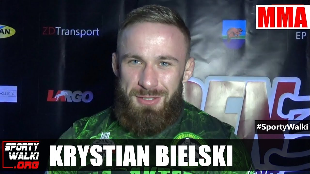 Krystian Bielski przed Dragon Fight Night 3