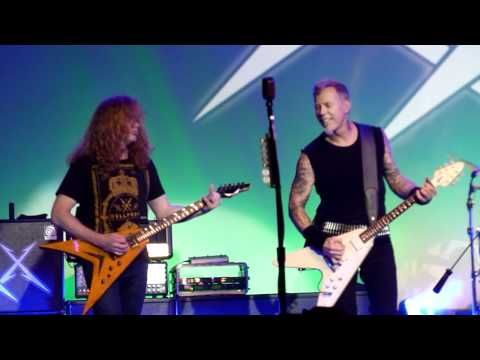 Metallica w Dave Mustaine  Phantom Lord  in San Francisco, December 10th, 2011